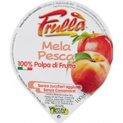 Natura frulla polpa mela/pesca - gr.100