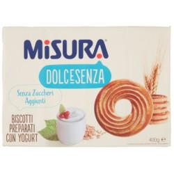 Misura biscotti senza zucchero yogurt - gr.400