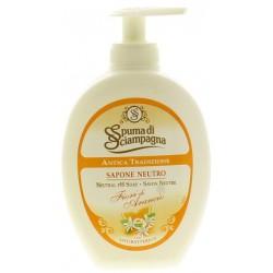 Spuma di Sciampagna sapone liquido fiori arancio - ml.250