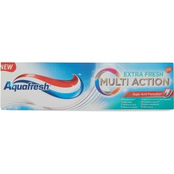 Aquafresh dentifricio multi act fresh