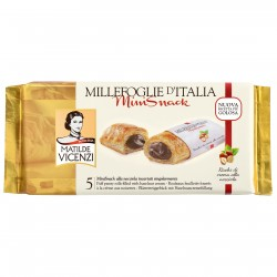 Vicenzi mini snack nocciola - gr.125