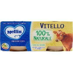 Mellin omogeneizzato vitello - gr.80 x2