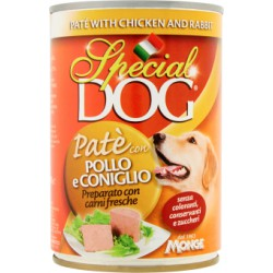 Special dog pate pollo conisglio - gr.400