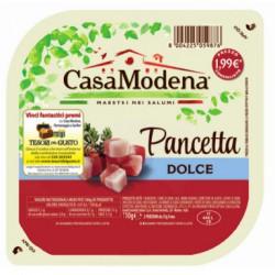 Casa modena pancetta dolce cubetti gr.110