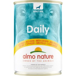 Almo daily cane pollo lattina - gr.400