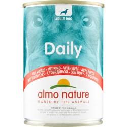 Almo daily cane manzo lattina - gr.400