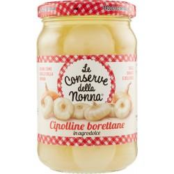 Le conserve della nonna Cipolline borettane in agrodolce 270 gr.
