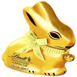 Lindt gold bunny coniglietto cioccolato bianco gr.100