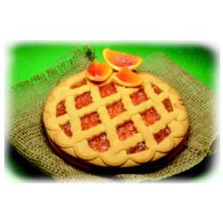 Paradiso del dolce crostata arancia - gr.450