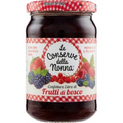 Le conserve della Nonna confettura extra ai frutti di bosco - gr.330
