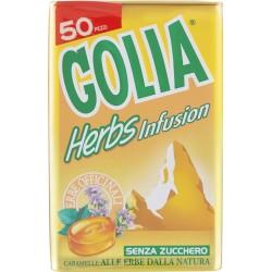 Golia Herbs Infusion Caramelle alle erbe dalla natura gr.93
