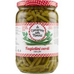 Le conserve della Nonna fagiolini extra fini verdi - gr.680