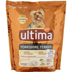 Ultima Dog Yorkshire Terrier Pollo 800 gr.