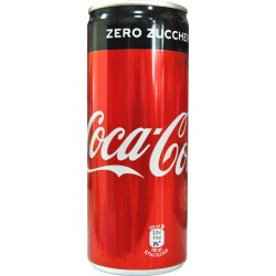 Cocacola eurocan zero lattina cl.25