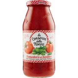 Le conserve della Nonna pomodoro basilico gr 500