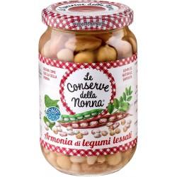 Le conserve della Nonna armonia di legumi lessati - gr.360