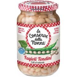 Le conserve della Nonna fagioli tondini lessati gr360