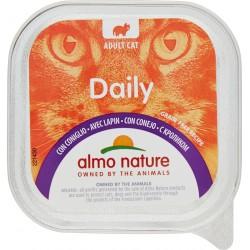 Almo nature Daily Adult Cat con Coniglio 100 gr.