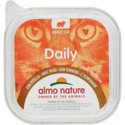 Almo daily gatto vitello vaschetta - gr.100