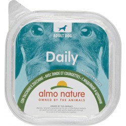 Almo daily cane tacchino zucca vaschetta - gr.300