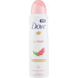 Dove Deodorante Go Fresh profumo di melograno ed erba cedrina spray 150 ml.