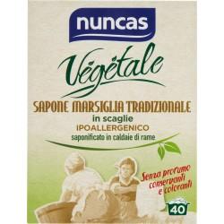 Nuncas sapone di marsiglia in scaglie - gr.400