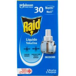 Raid liquido ricarica 30 notti