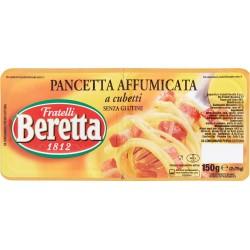 Pancetta affumicata a cubetti Beretta gr.150