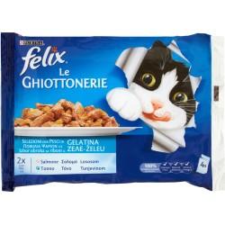 Felix ghiottonerie salmone tonno - gr.100 x4