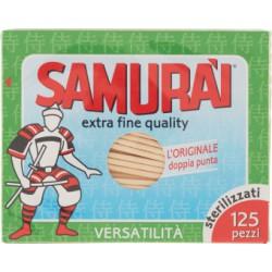 Samurai stuzzicadenti 125 pz x 3