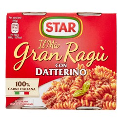 Gran ragu star con datterino - gr.180 x2