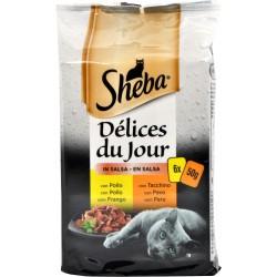 Sheba delices du jour bianche - gr.50 x6
