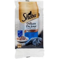 Sheba Délices Du Jour in Salsa Selezione del Mare 6 x 50 g