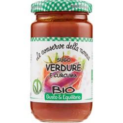 Le conserve della Nonna sugo verdure curcuma - gr.190