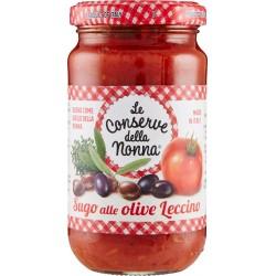 Le conserve della Nonna sugo alle olive leccino - gr.190