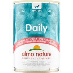 Almo nature Daily Adult Dog con Maiale 400 gr.