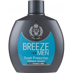Breeze Men Fresh Protection Deodorante profumato 100 ml.