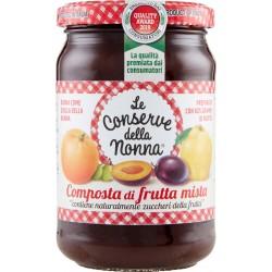 Le conserve della Nonna composta di frutta mista - gr.330