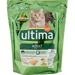 Ultima Cat Adult 1-10 Anni Salmone e riso 400 gr.