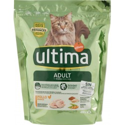 Ultima Cat Adult 1-10 Anni Pollo e riso 400 gr.