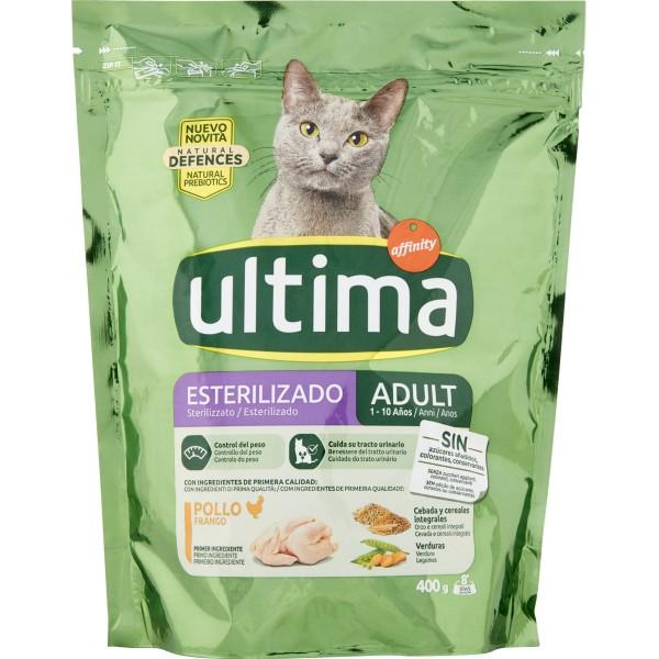 Ultima affinity cat sterilizzato  gr.400 in offerta a prezzo scontato