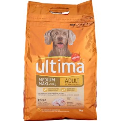 Ultima dog adult pollo riso - kg.3