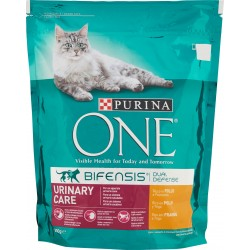 PURINA ONE BIFENSIS Gatto Crocchette URINARY CARE Ricco in Pollo e Frumento 800 gr.