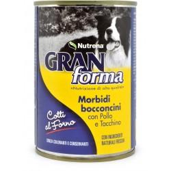 Nutrena Gran Forma morbidi bocconcini di pollo e tacchino gr.405