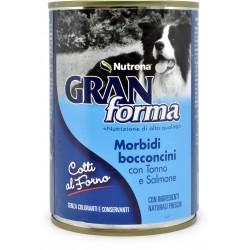 Nutrena Gran Forma morbidi bocconcini di tonno e salmone gr.405