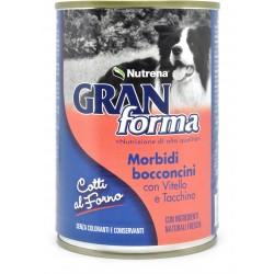 Nutrena Gran Forma morbidi bocconcini di vitello e tacchino gr.405