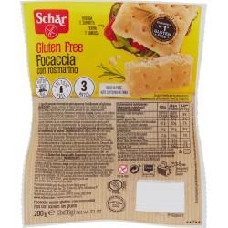 Schär Focaccia con rosmarino senza glutine gr.200