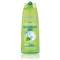 Fructis shampoo puliti&brillanti 2/1 - ml.250