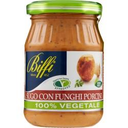Biffi 100% Vegetale Sugo con Funghi Porcini 190 gr.
