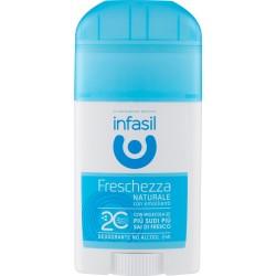 Infasil deo stick fresh naturale - ml.40
